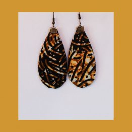 wax earrings